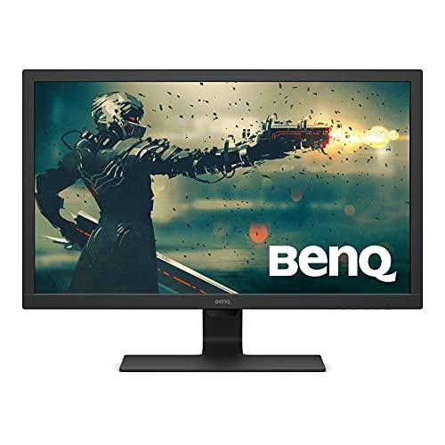 BenQ Monitor De 27 Polegadas 1080P   75 Hz 1Ms Para Jogos   Tecnologia De Cuidados Com Os Olhos Proprietários   Brilho Adaptativo Para A Qualidade Da Imagem   Gl2780, Preto Brilhante 27