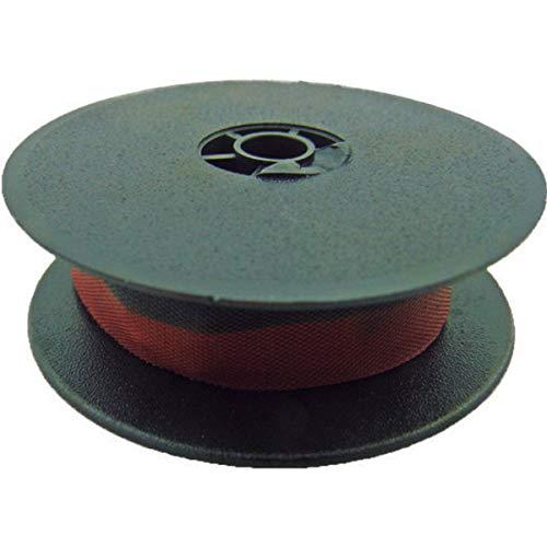 Fita Para Maquina Escrever Manual Olivetti Preta/Vermelha 13mmx8m. Nylon - Caixa com 12, Masterprint, 1041001, Multicor
