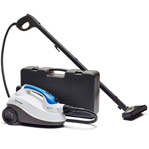 Limpador a vapor confiável Brio 225CC – Sistema de limpeza a vapor com pressão 65 PSI para uso doméstico, vaporizador para azulejo de limpeza, argamassa, chão de madeira, tapete de frescor, limpador a vapor para carros e automóveis