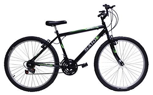 Bicicleta Aro 26 Masculina De Passeio 18 Marchas (Preto)