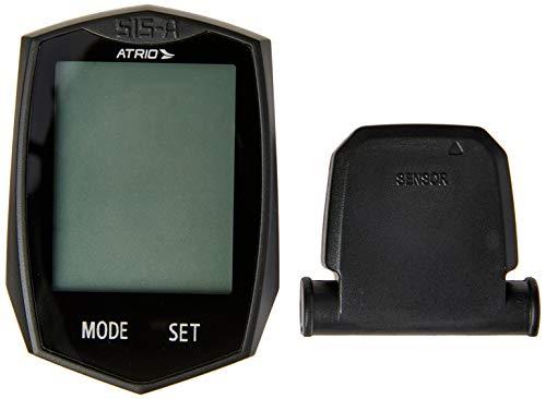 Ciclocomputador Atrio Wireless sem Fio com 22 Funções Tecnologia Touch e Material em Plástico Preto - BI086, Padrão