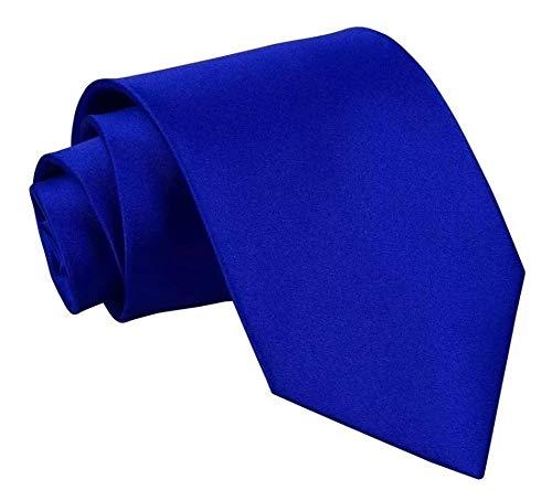 Gravata Slim Fit Sport (Azul Royal)