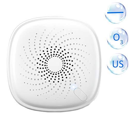 2-em-1 Plug-in Mini Ionizador Purificador de ar Gerador de ozônio Desodorizador Portátil Purificador de ar Eliminador de odor para quartos Fumaça e animais de estimação EUA Plug