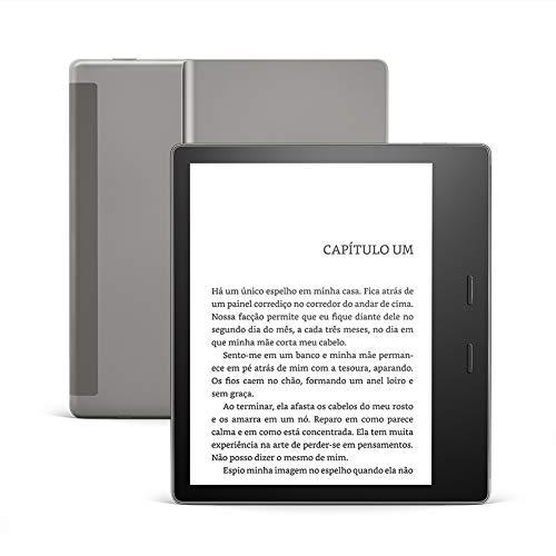 Kindle Oasis 32GB - Agora com temperatura de luz ajustável - Cor Grafite