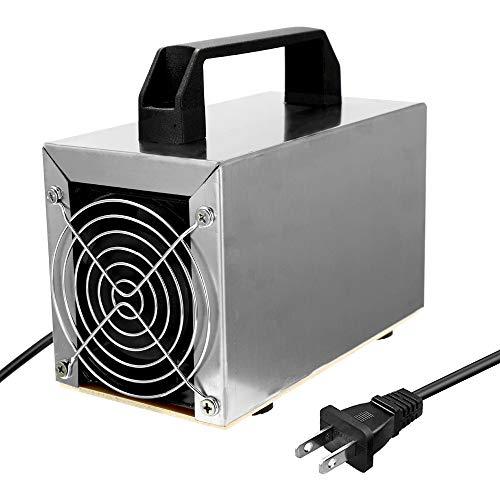 Romacci Gerador de ozônio 32g Máquina de ozônio Purificador de ar Purificador de ar Limpeza de formaldeído Ventilador de filtro de ar para casa