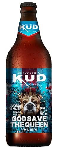 Cerveja Artesanal CERVEJA SEM GLÚTEN GOD SAVE THE QUEEN (ENGLISH PALE ALE)-G.600ML 600 ml