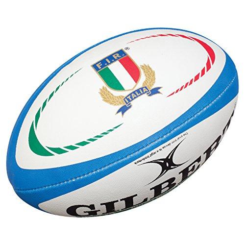Réplica de rúgbi italiana, bola de rugby da Gilbert, tamanho 5