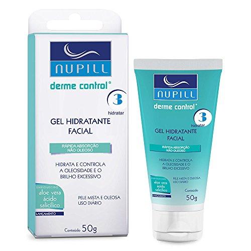 Gel Hidratante Facial Nupill Derme Control 50g, Nupill