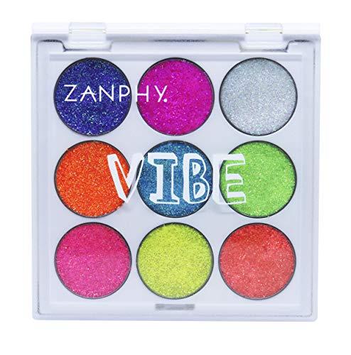 Paleta De Glitter Neon - Linha Vibe Paleta 01, Zanphy