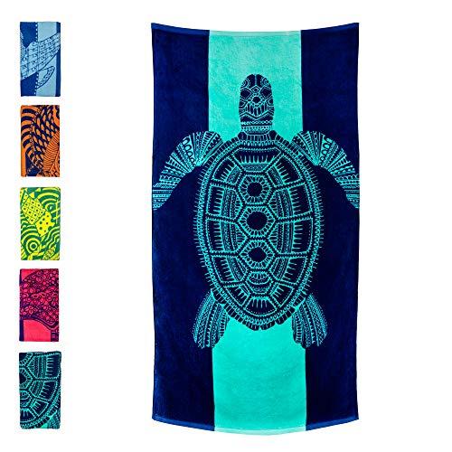 Toalhas de praia Nova Blue, Turtle, x-large, xl, Large