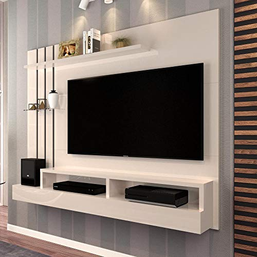 Painel para TV Classic Off White - Moveis Jaci