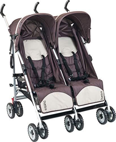 Carrinho de Bebê Duetto, Burigotto, Brown