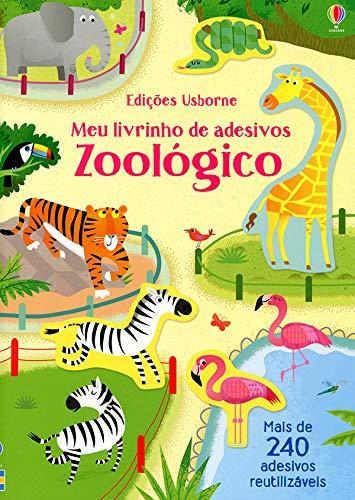 Meu livrinho de adesivos: Zoológico