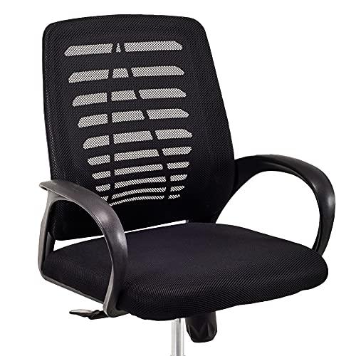 Cadeira Executiva Viena Giratória Regulagem de Altura a Gás Telada Preto