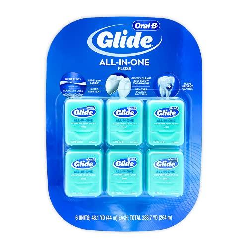 Oral-B Pro-Health Comfort Plus Mint Floss, menta, pacote com 6
