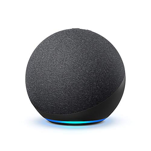 Echo (4ª Geração): Com som premium, hub de casa inteligente e Alexa - Cor Preta