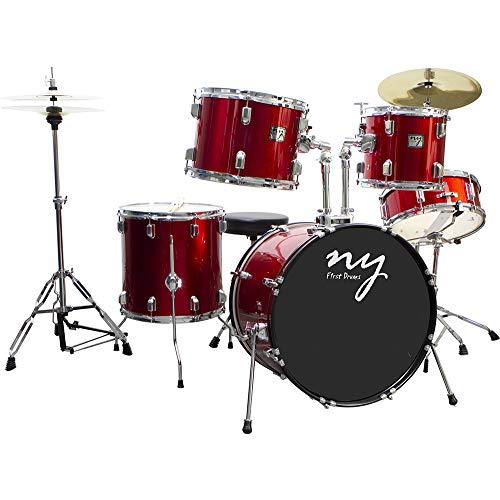 Bateria Acústica Ny-F1rst 2T Vermelho