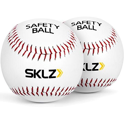 SKLZ Bolas de beisebol macias e acolchoadas, pacote com 2