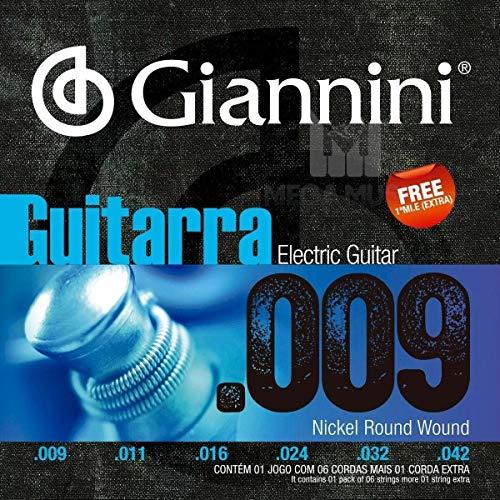 Encordoamento Guitarra Geegst 9